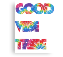 Good Vibe Tribe Canvas Print