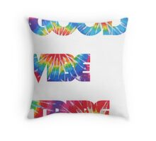 Good Vibe Tribe Throw Pillow