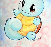 Squirtle  by AmberQuinonez