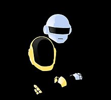 Yellow and Blue - Daft Punk by TheFrisby