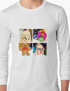 Sugar and spice and all things nice... Long Sleeve T-Shirt
