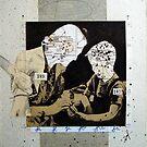 MAPAS FAMILIARES: EL BRAZO QUE AYUDA ES EL BRAZO QUE ES CORTADO (Family maps: the helping arm is the arm that is cutted) by Alvaro Sánchez