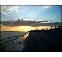 Sunset on Sanibel Photographic Print