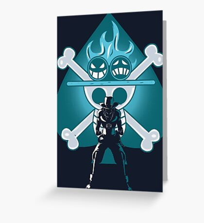 Ace Warrior Greeting Card