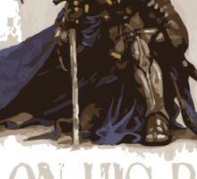 Warrior On His Behalf Sticker