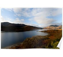 Loch Cluanie Poster