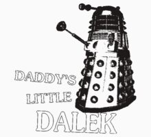 Daddy's Little Dalek One Piece - Long Sleeve