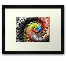 Jump In The Fire Framed Print