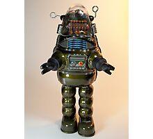 Billiken Shokai Tin Wind Up Robby the Robot Photographic Print