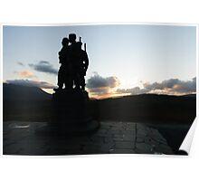 The Commando Monument Poster