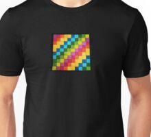 Rainbow Blocks Unisex T-Shirt