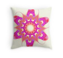 Xeno Flower Throw Pillow