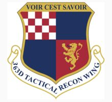 363rd Tactical Recon Wing - VOIR CEST SAVOIR - To See Is To Know by VeteranGraphics