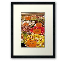 Vienna Deli Framed Print