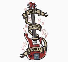 Bass Battle Fight! One Piece - Short Sleeve