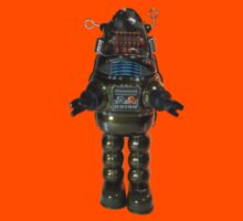 Billiken Shokai Tin Wind Up Robby the Robot Kids Clothes