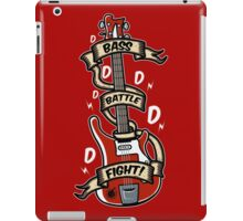 Bass Battle Fight! iPad Case/Skin