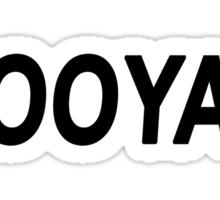 BOOYAH Sticker
