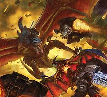 Deathwatch vs. Tyranids by FailedDEATH666