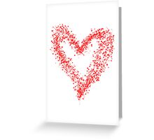 Red Heart 1 Greeting Card