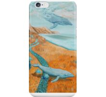 Whales in the sky iPhone Case/Skin