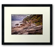 Gordon Bay boats Framed Print