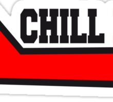 Chill now Lounger relaxation holiday sleeping spel Sticker