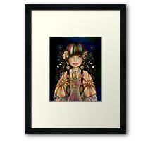 Rainbow Princess Framed Print