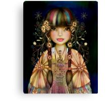 Rainbow Princess Canvas Print
