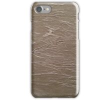 Slate Grey Wrinkle iPhone Case/Skin
