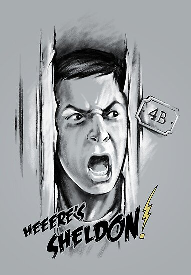 Here's Sheldon by Vincent Carrozza
