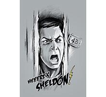 Here's Sheldon Photographic Print