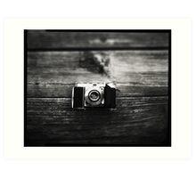 Kodak Retina 1a captured on 4x5  Art Print