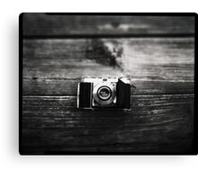 Kodak Retina 1a captured on 4x5  Canvas Print