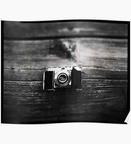 Kodak Retina 1a captured on 4x5  Poster