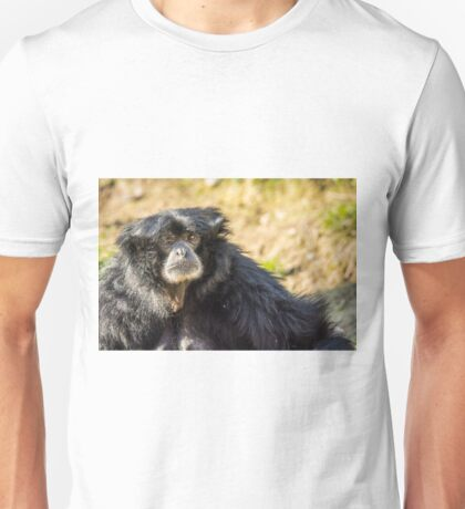 Portrait of a Siamang Unisex T-Shirt