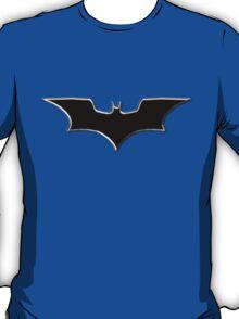 Dark Kight Logo Black with Silver T-Shirt