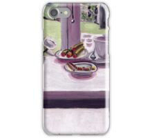 A cool morning scene iPhone Case/Skin