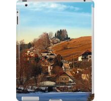 Road upon the river | landscape photography iPad Case/Skin