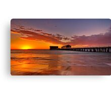 """Queenscliff Summer Dawn"" Canvas Print"