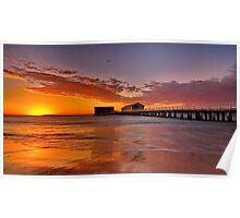 """Queenscliff Summer Dawn"" Poster"