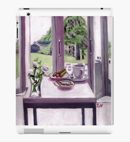 A cool morning scene iPad Case/Skin