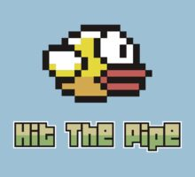 Hit The Pipe Flappy Bird by hanelyn