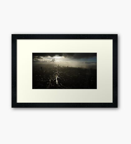 An Isolated System Framed Print