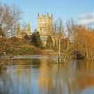 Tewkesbury Abbey by Mark Hughes