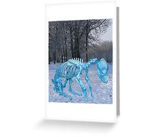 Sochi 2014 Dog Slaughter Greeting Card