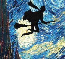 Harry Potter The Starry Night  Sticker