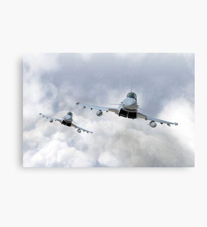 3 Squadron Typhoons  Canvas Print