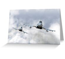 3 Squadron Typhoons  Greeting Card