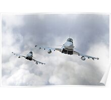 3 Squadron Typhoons  Poster